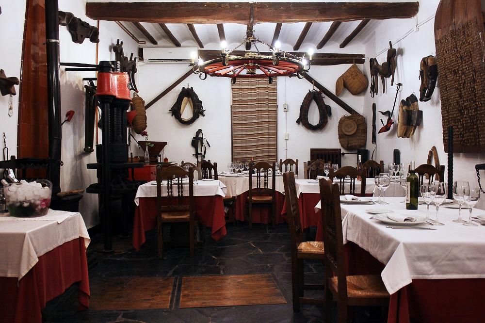 Restaurante en bodegas de Alicante