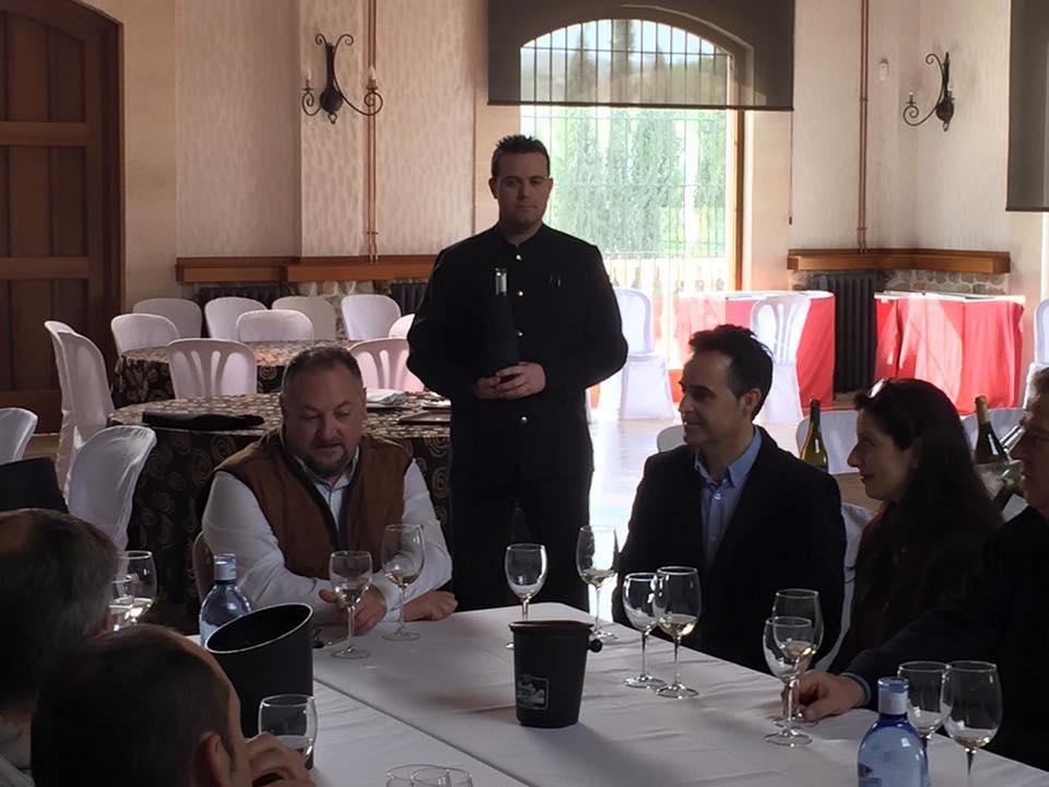 Restaurante en Bodegas Casa Cesilia