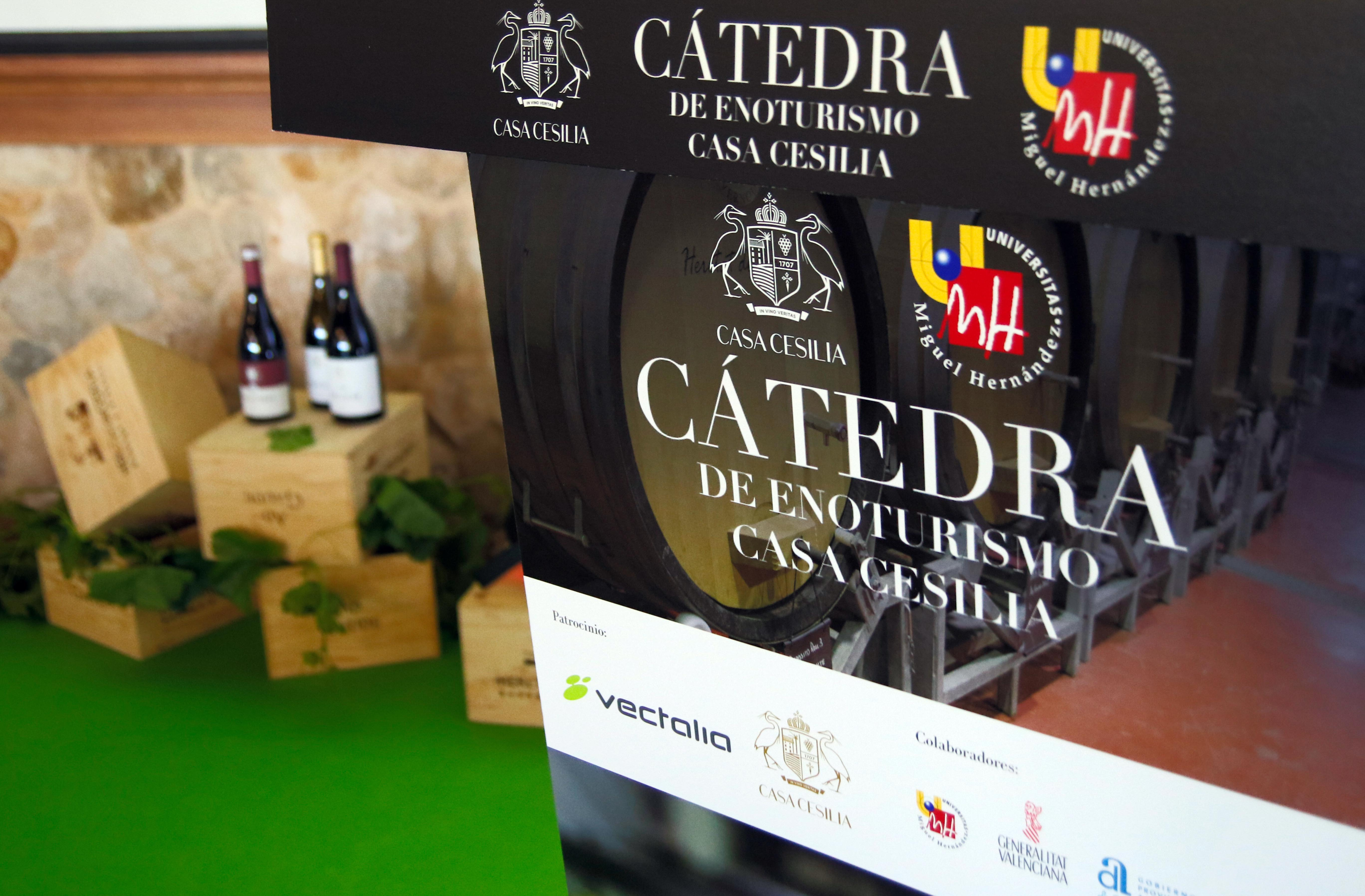 Catedra Casa Cesilia Enoturismo