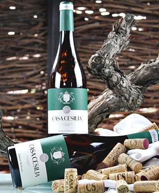 Selección de vinos Casa Cesilia