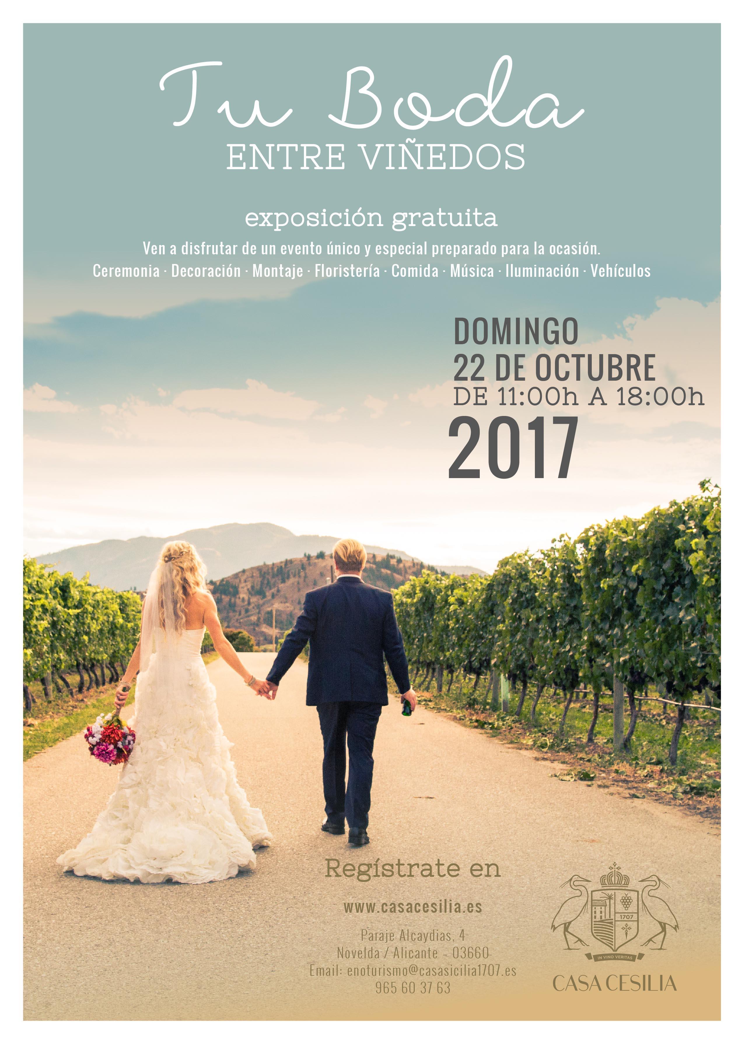 Jornada Puertas Abiertas Novios Casa Cesilia 2017