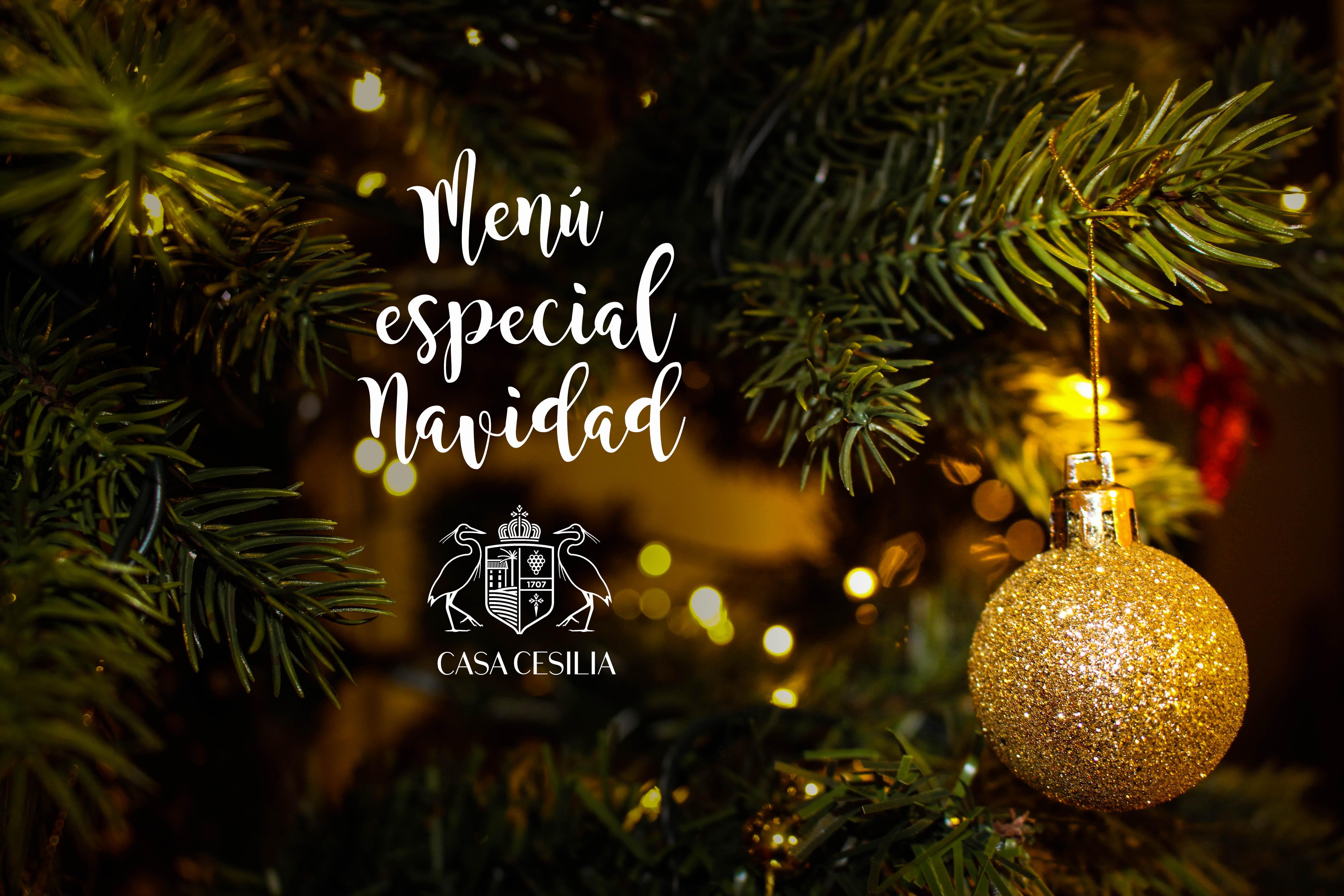 Menu especial de Navidad en Casa Cesilia