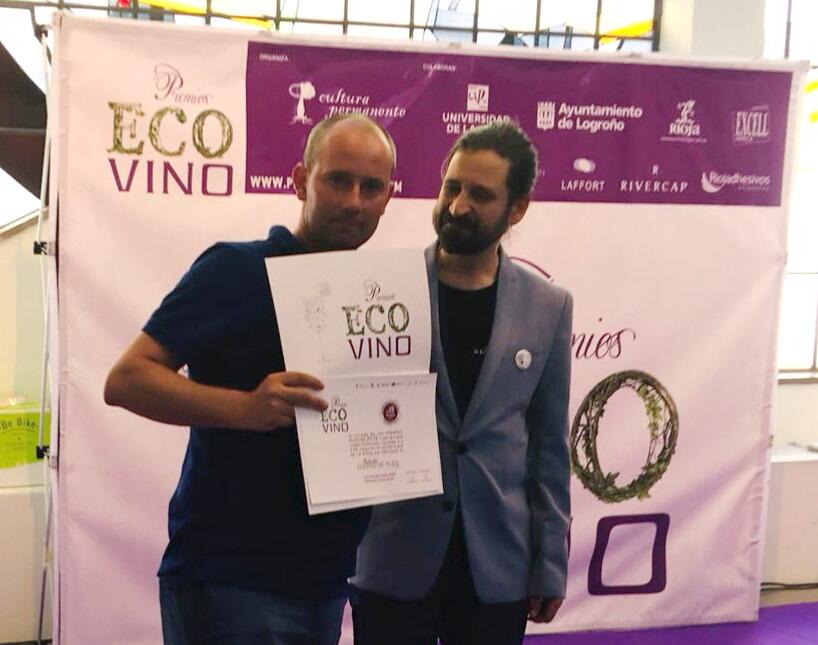 Premios Ecovino 2018 Casa Cesilia Roble