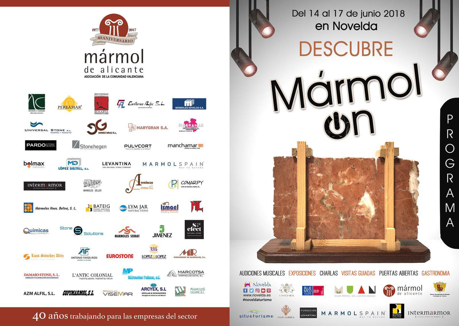 Marmol On menu especial Casa Cesilia