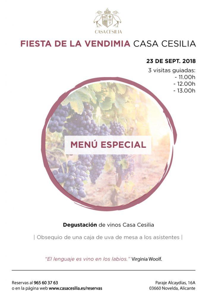 Fiesta de la Vendimia Casa Cesilia 2018