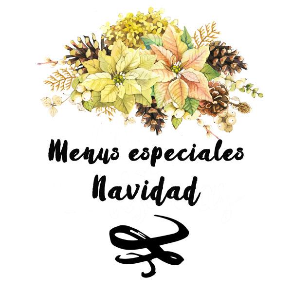 Menús especiales Navidad Casa Cesilia 2018