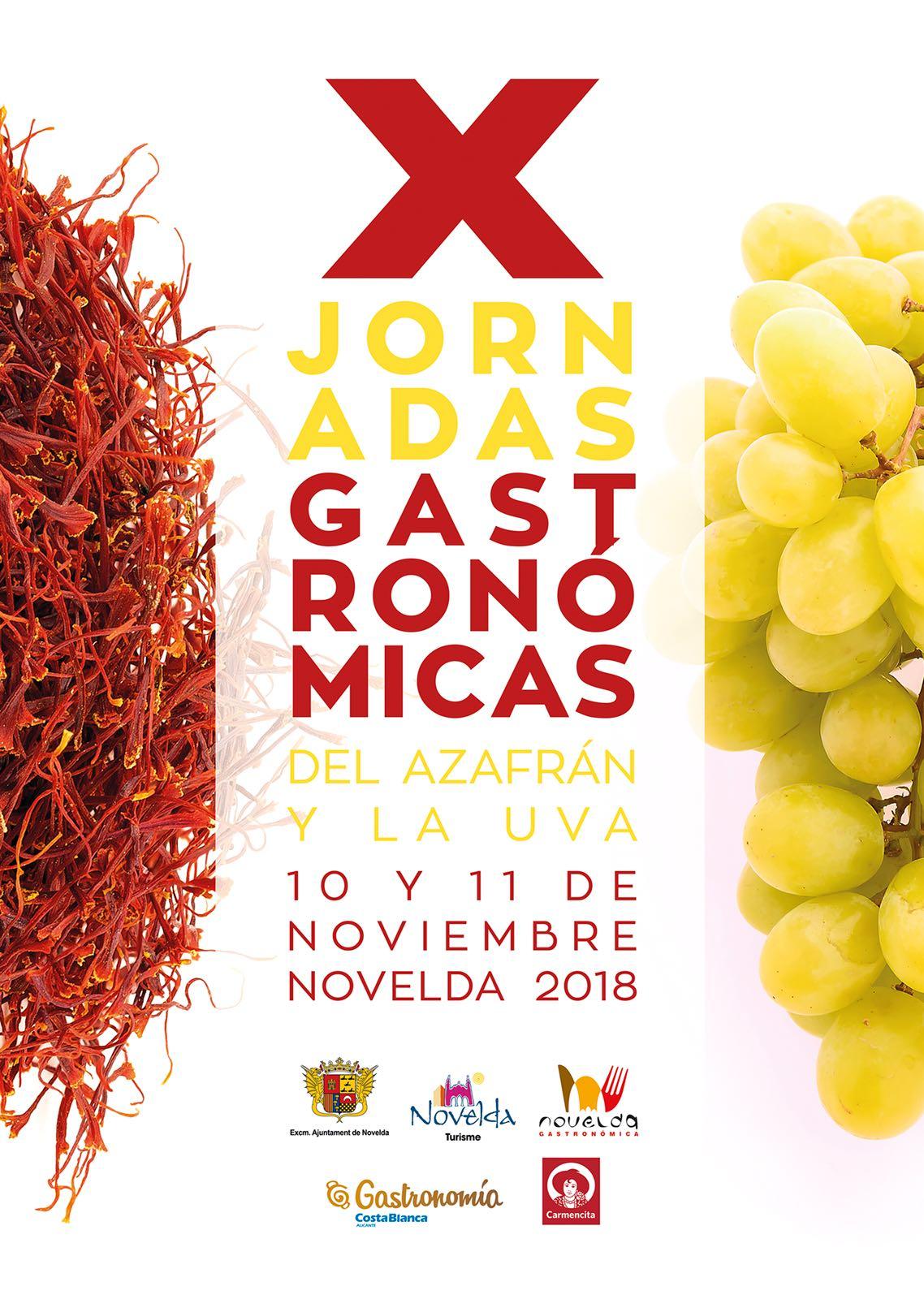 Menu especial Jornadas Gastronómicas de la Uva y del Azafran