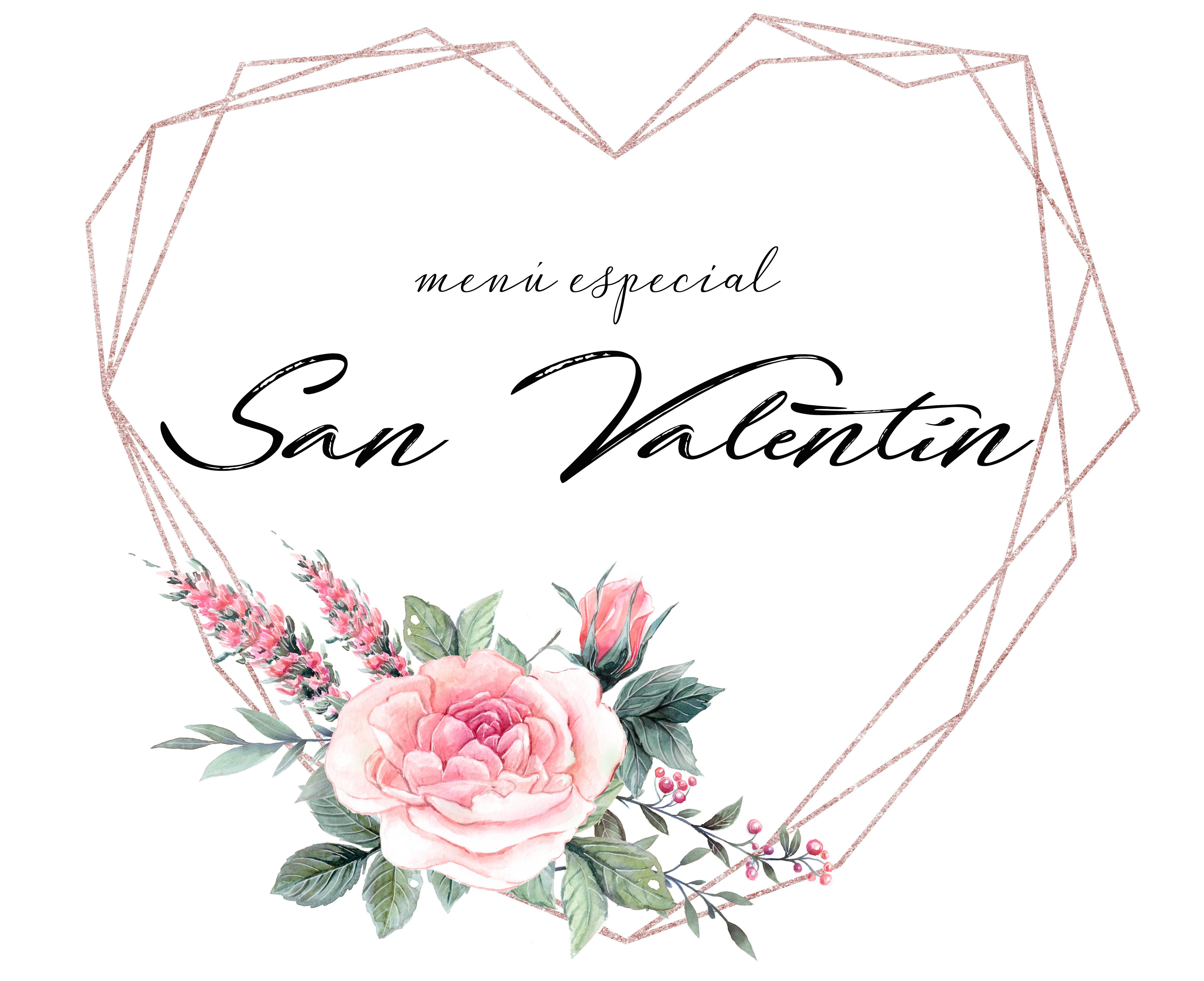 Menú especial San Valentín Casa Cesilia 2019